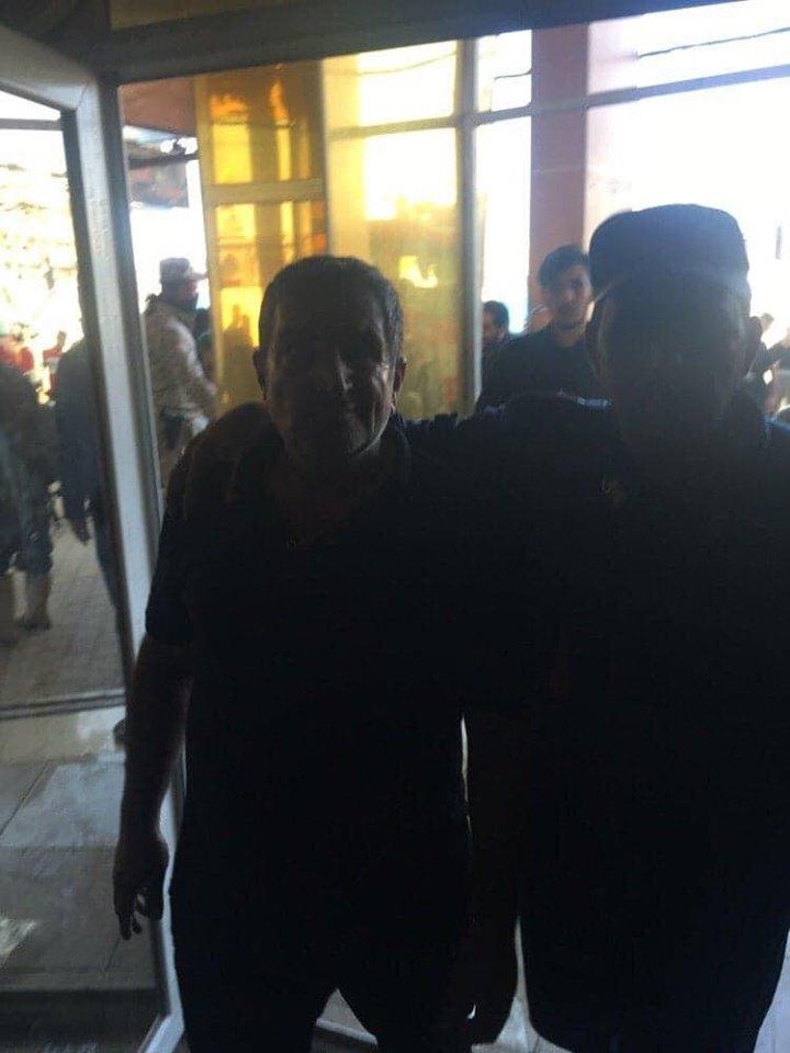 إنقاذ 70 نزيلا من حريق اندلع في أحد فنادق كربلاء (صور)