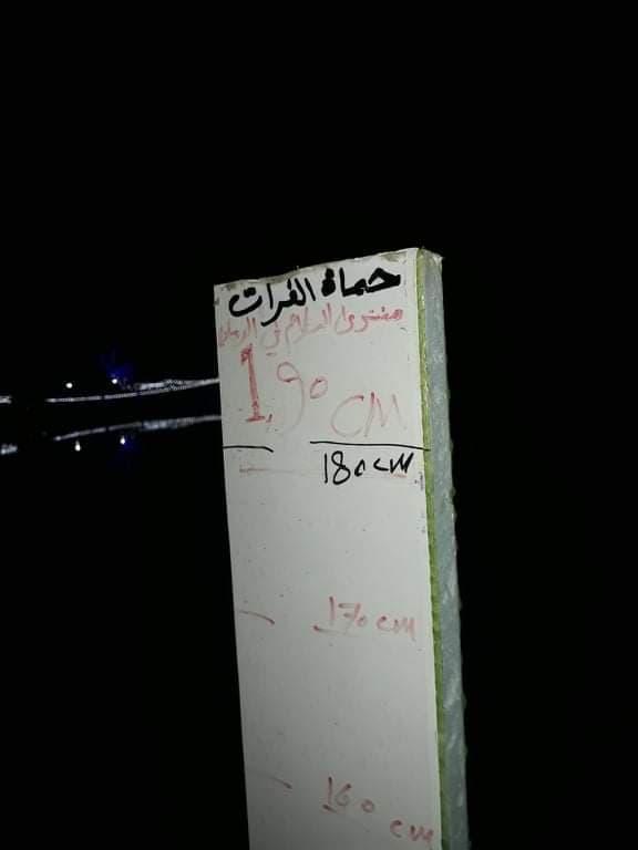 """استنفار في الأنبار بعد """"مداهمة"""" مبكرة من """"الفرات"""".. وفريق تطوعي يشرح الأسباب (صور)"""