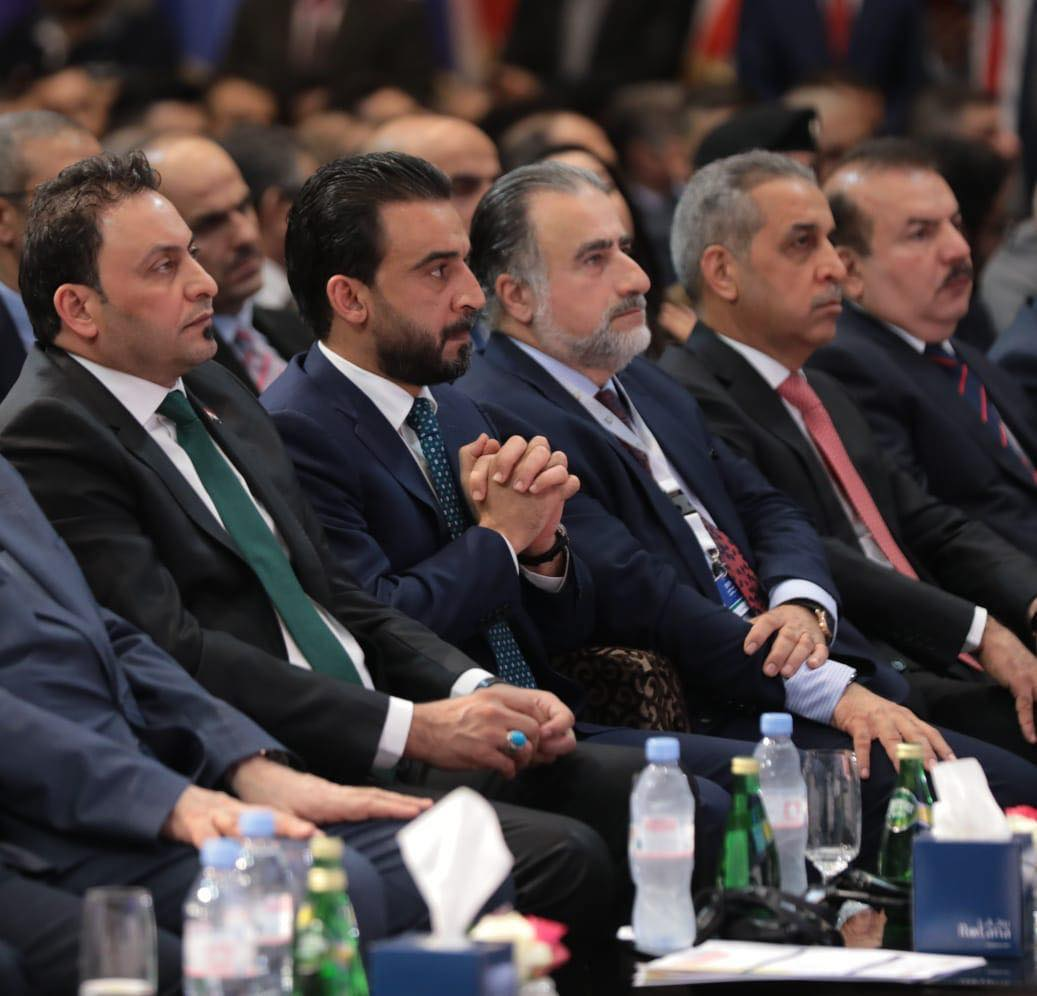 الحلبوسي أمام ملتقى الرافدين للأمن والاقتصاد في بغداد: العراق سيكون محورا بحد ذاته