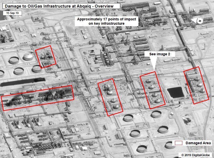ترامب يُشكّك بالرواية الإيرانية بشأن قصف مواقع نفطية سعودية: سوف نرى؟