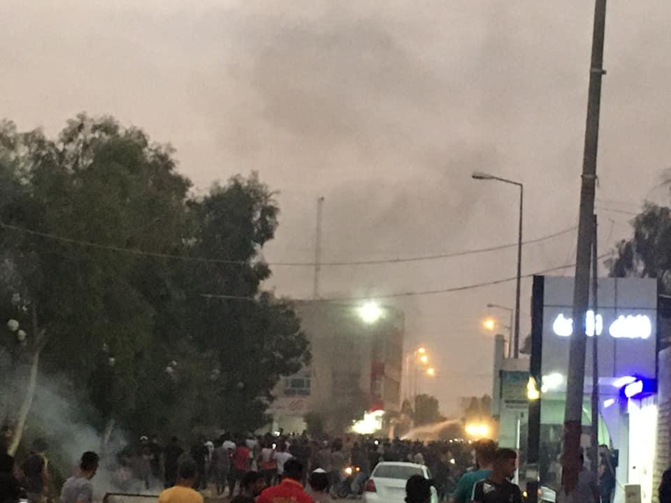 ساحة الحبوبي تحتشد .. مقتل متظاهر في ذي قار