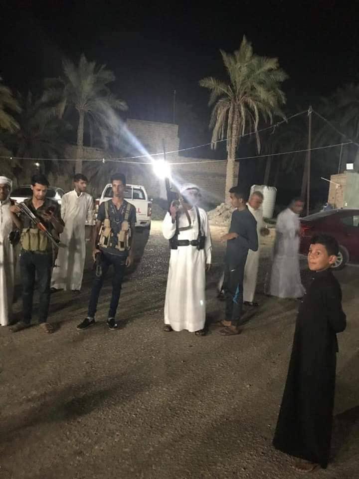 محتجزو رفحاء يقطعون سكة القطار في سوق الشيوخ ويعلنون العصيان المسلح
