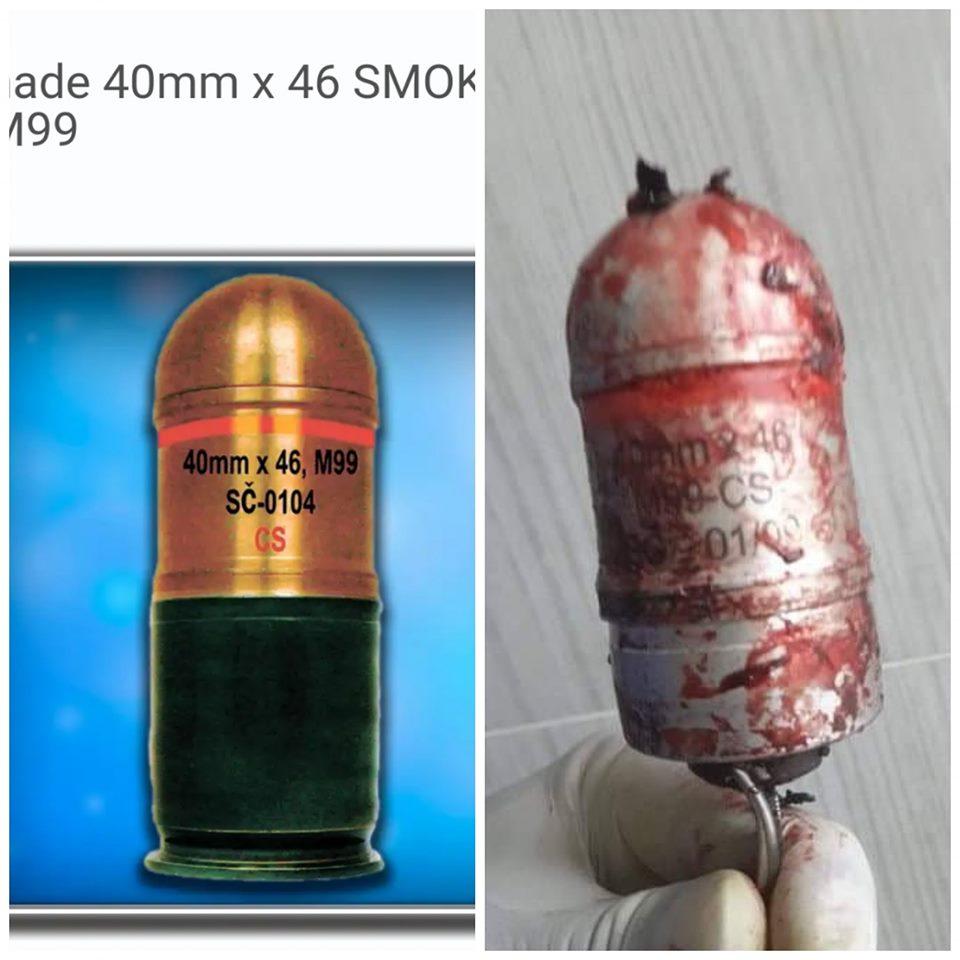 """""""قاتلة المتظاهرين"""" في العراق.. خلية الخبراء تكشف معلومات مفصلة عن قنابل الغاز"""