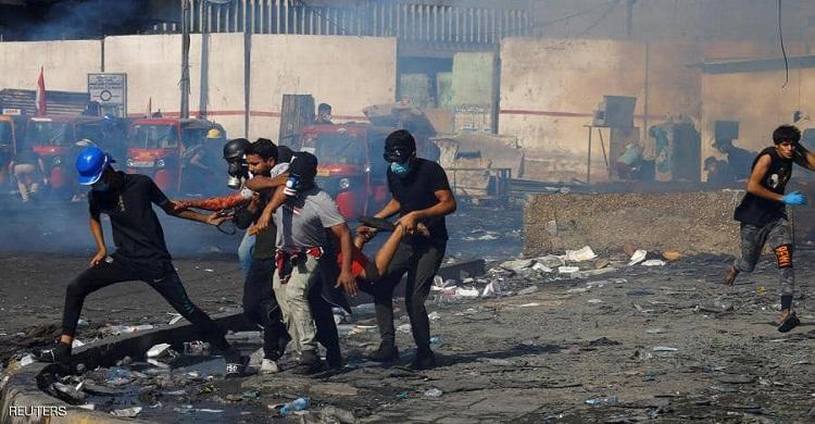 بيان أمني جديد ينفي سقوط قتلى وجرحى بين المتظاهرين في بغداد: لا تضحيات!