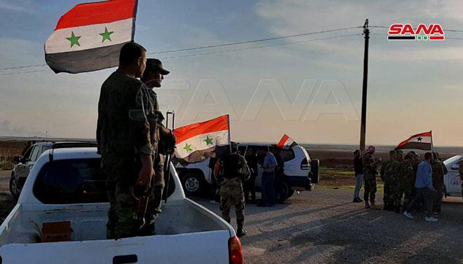 "وێنە و ڤیدیۆ.. سوریا ""کۆنتڕۆڵکردنى"" کێڵگەیەکى نەوتى لە ڕۆژئاواى کوردستان ڕاگەیاند"