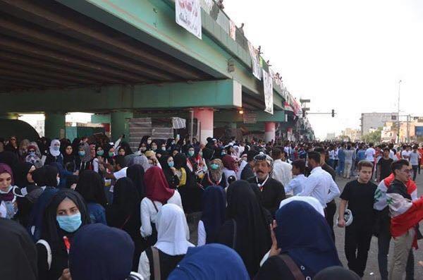 تظاهرات الطلاب تتجدد في ميسان (صور)