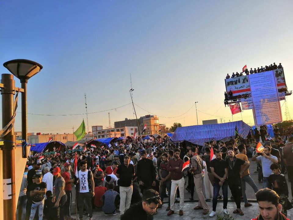 مسيرة طلابية تعلن تجدد التظاهرات في البصرة