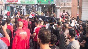 """دموع وحزن.. كربلاء تشيع """"قتيل الأحرار"""" (صور)"""