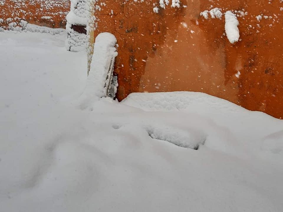 الثلوج تغطي كل شيء .. منطقة عراقية تحاكي روسيا في برودة طقسها (صور)
