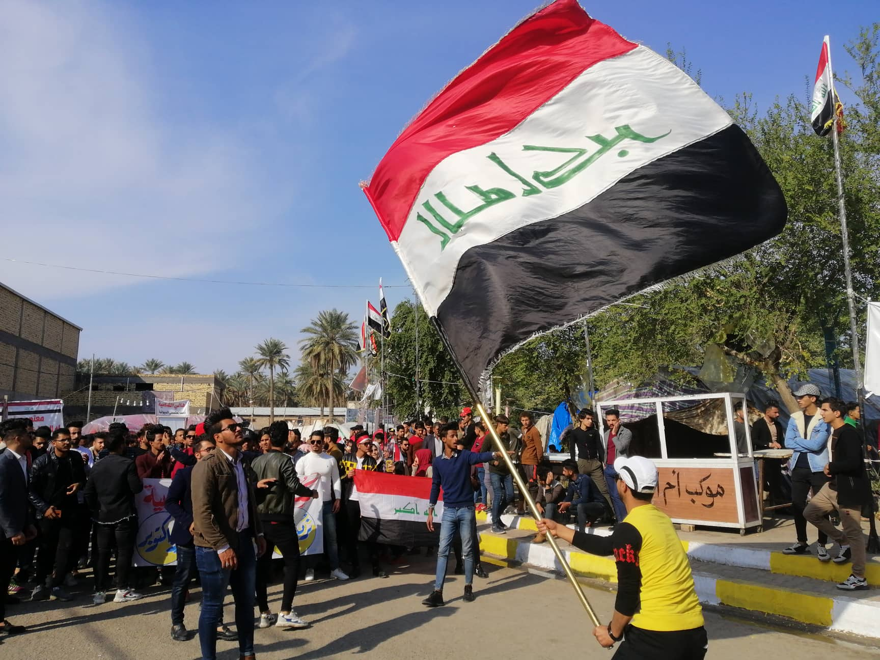 """لنبذ العنف ضد المتظاهرين .. الديوانية تطلق مارثون الحرية"""" بنسخته الأولى"""