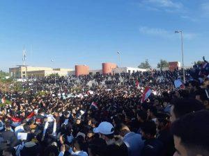 من الحداد والتضامن إلى الإضراب الطلابي.. تكريت تدخل على خط الاحتجاجات (صور)