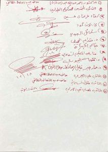 """صلاح الدين """"تنفض"""" مسؤوليها """"بالجُملة"""" (وثيقة)"""