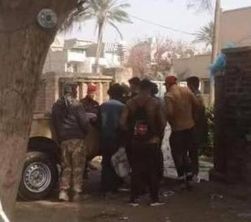 """""""معمم"""" يهاجم كنيسة الحكمة الالهية في بغداد.. وتوضيح رسمي بشأن الحادثة"""