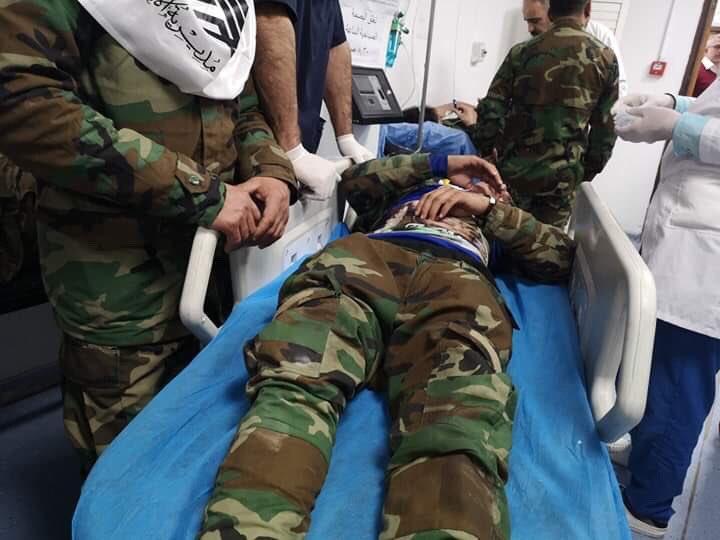 اعلام الحشد الشعبي ينشر صوراً للمصابين في اقتحام السفارة الأميركية