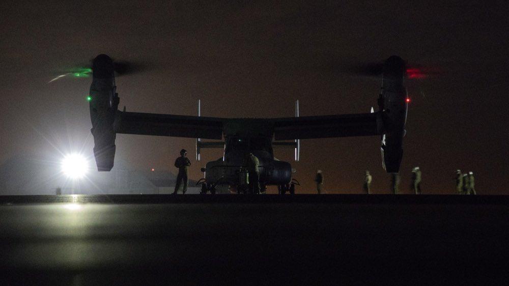 فيديو وصور.. هذه القوة الاميركية التي وصلت إلى بغداد لحماية سفارة واشنطن