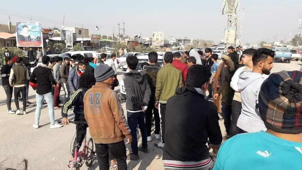 محتجو الديوانية يصعّدون خطواتهم: الجميع مطالب باحترام ما سنقوم به (صور)