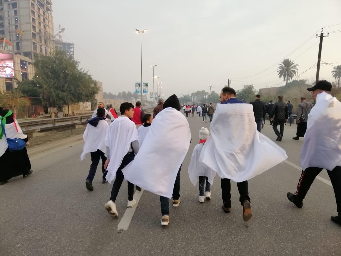 تظاهرة إخراج القوات الأميركية في صور