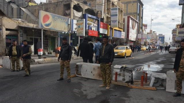 """أطواق أمنية """"مشددة"""" تسبق التظاهرات في الناصرية (صور)"""