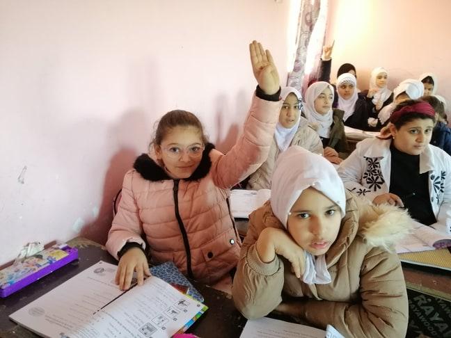 استئناف الدوام بالمدارس الابتدائية في الديوانية (صور)