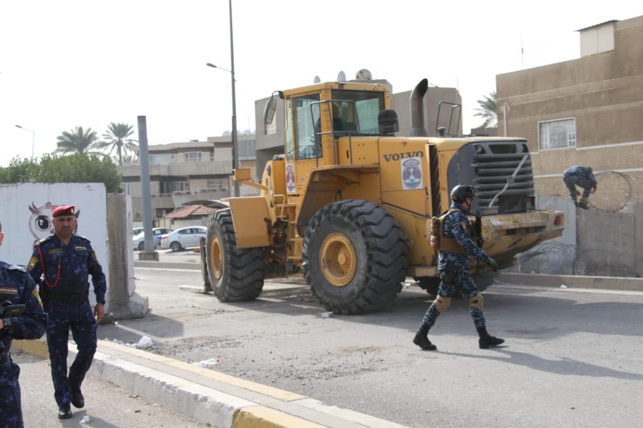 من النسور باتجاه المطار سالك .. عمليات بغداد تعلن افتتاح طريق حيوي في العاصمة