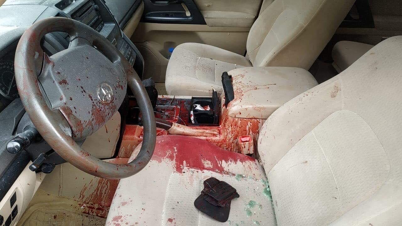 ضابط كبير في البيشمركة يتعرض لمحاولة اغتيال في أربيل (صورة)