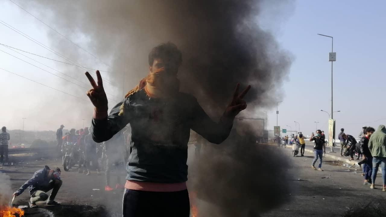 النساء تتصدر المشهد.. تصعيد مستمر في بابل وهتافات ضد ايران وأميركا (فيديو وصور)