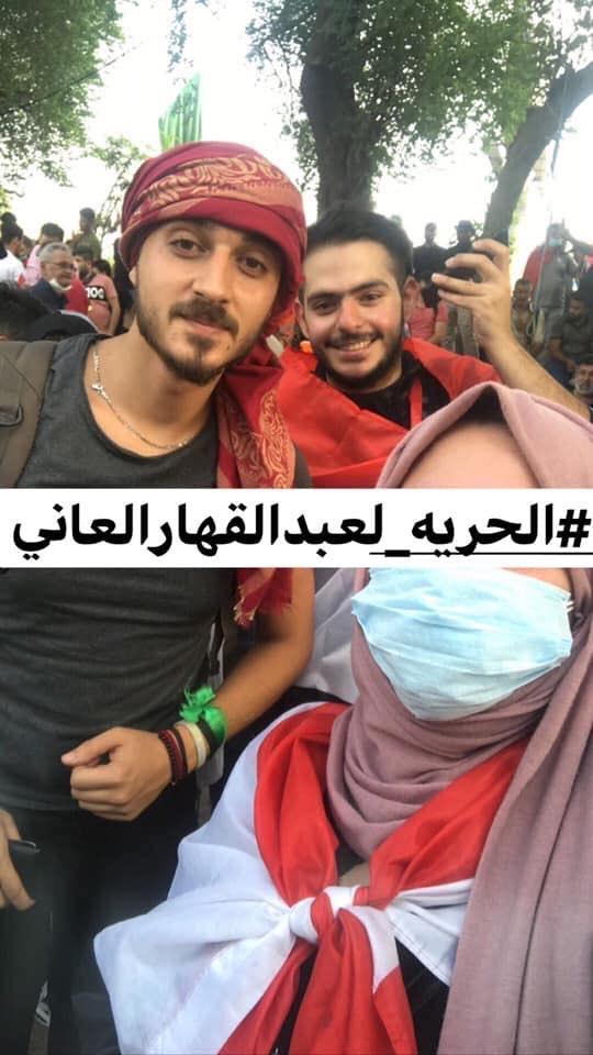 """اختفاء """"عبدالقهار العاني"""" من ساحة التحرير ومطالبات بالكشف عن مصيره"""