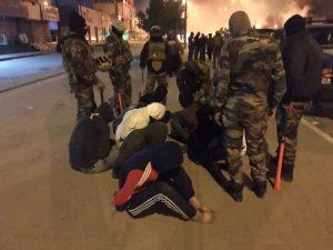 هل أحرقت قوات الصدمة خيم المعتصمين في البصرة؟ (صور وفيديو)