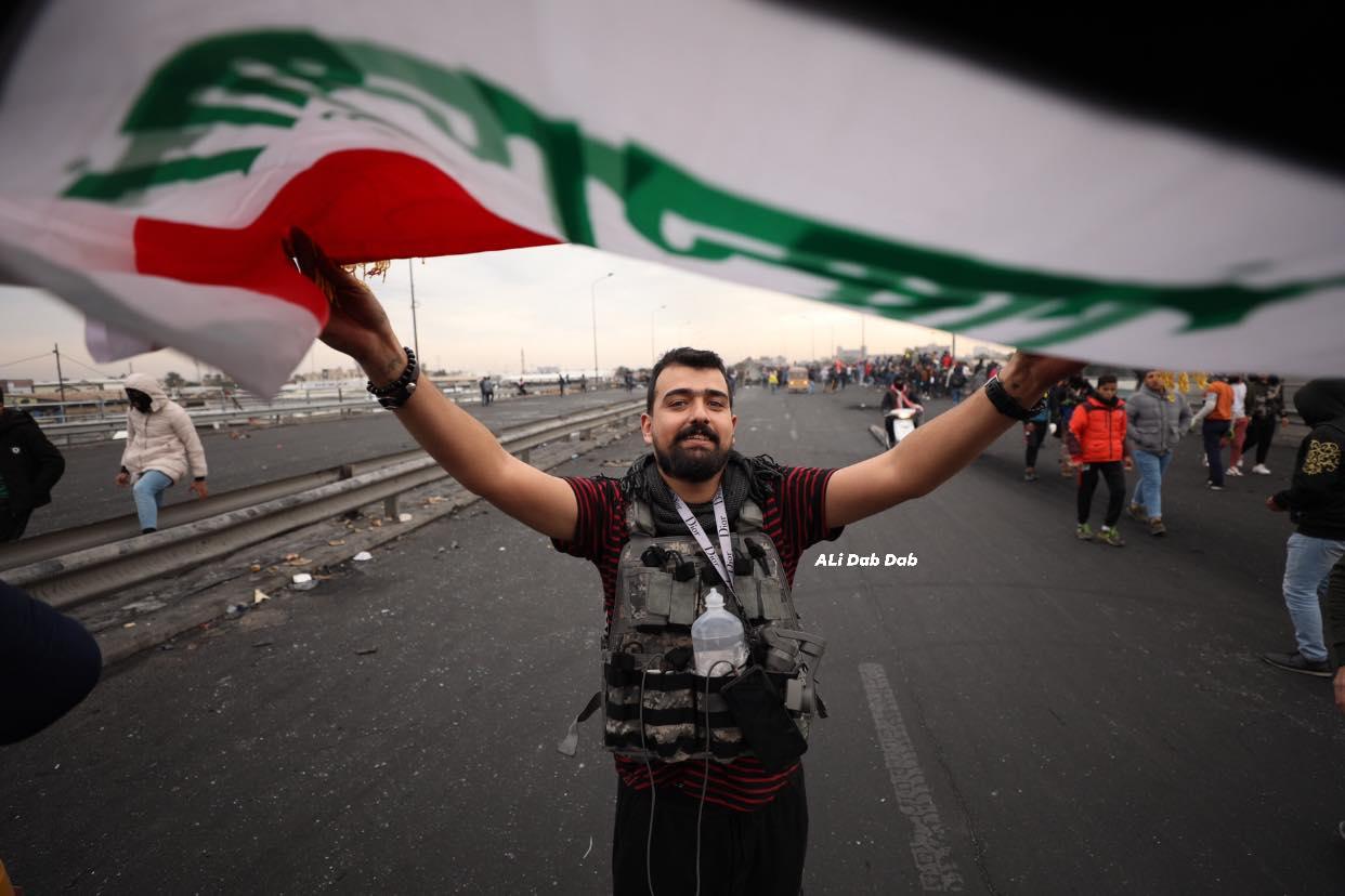 """مشاهد من احتجاجات """"محمد القاسم"""": نار ودماء وغضب (صور)"""