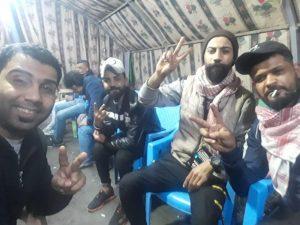مدير مكتب الصدر: لا احتكاك بين الصدريين ومعتصمي التحرير.. نحن هنا لحماية الشبّان