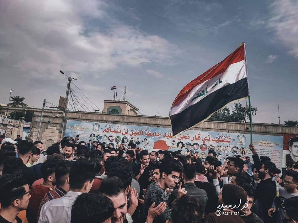 حشود الطلاب والطالبات تنتشر في ساحات 5 محافظات وتنعش الاحتجاج (فيديو وصور)