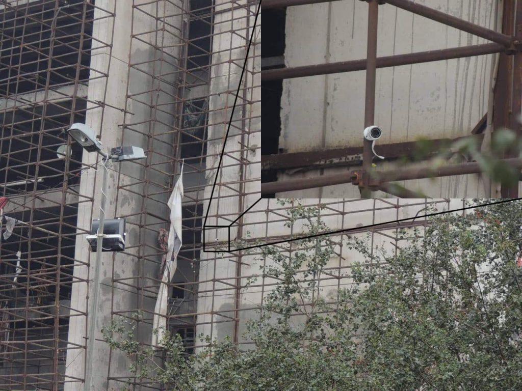 كاميرات مراقبة في