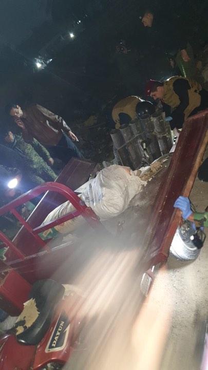 """""""ستوتة هجومية"""".. صور لمنصة صواريخ عثر عليها بعد استهداف السفارة الأميركية"""