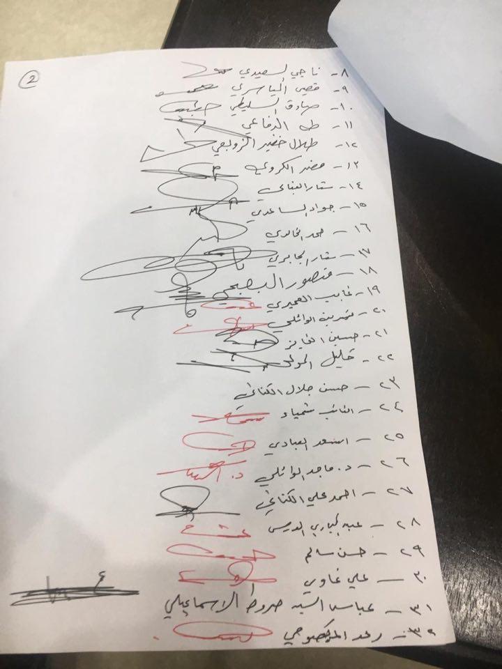 مخاض حكومة علاوي.. 53 توقيعاً لعقد جلسة استثنائية