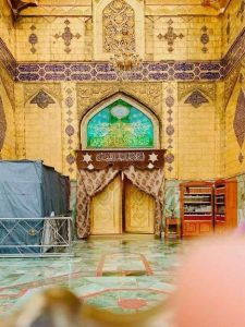 توضيح من إدارة مرقد الإمام علي بشأن إغلاق الضريح (صورة حديثة)