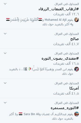 هاشتاك يوثق تصرفات القبعات الزرق يجتاح تغريدات تويتر في العراق