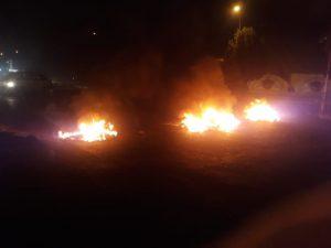 الناصرية.. إحراق مقار حكومية وإغلاق عدد من الطرق (فيديو وصور)