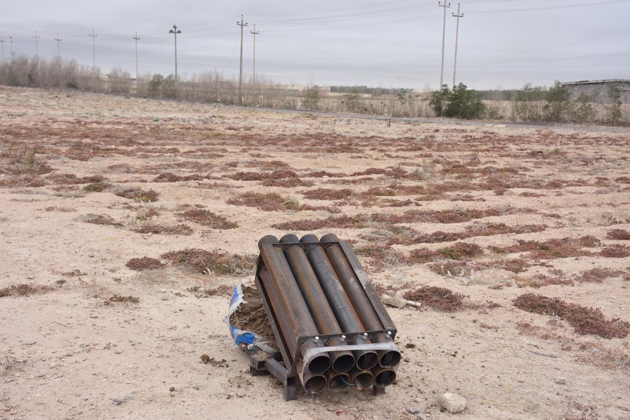 """على طريقة """"التاجي"""".. هجوم يستهدف شركة نفطية أميركية في البصرة (صور)"""