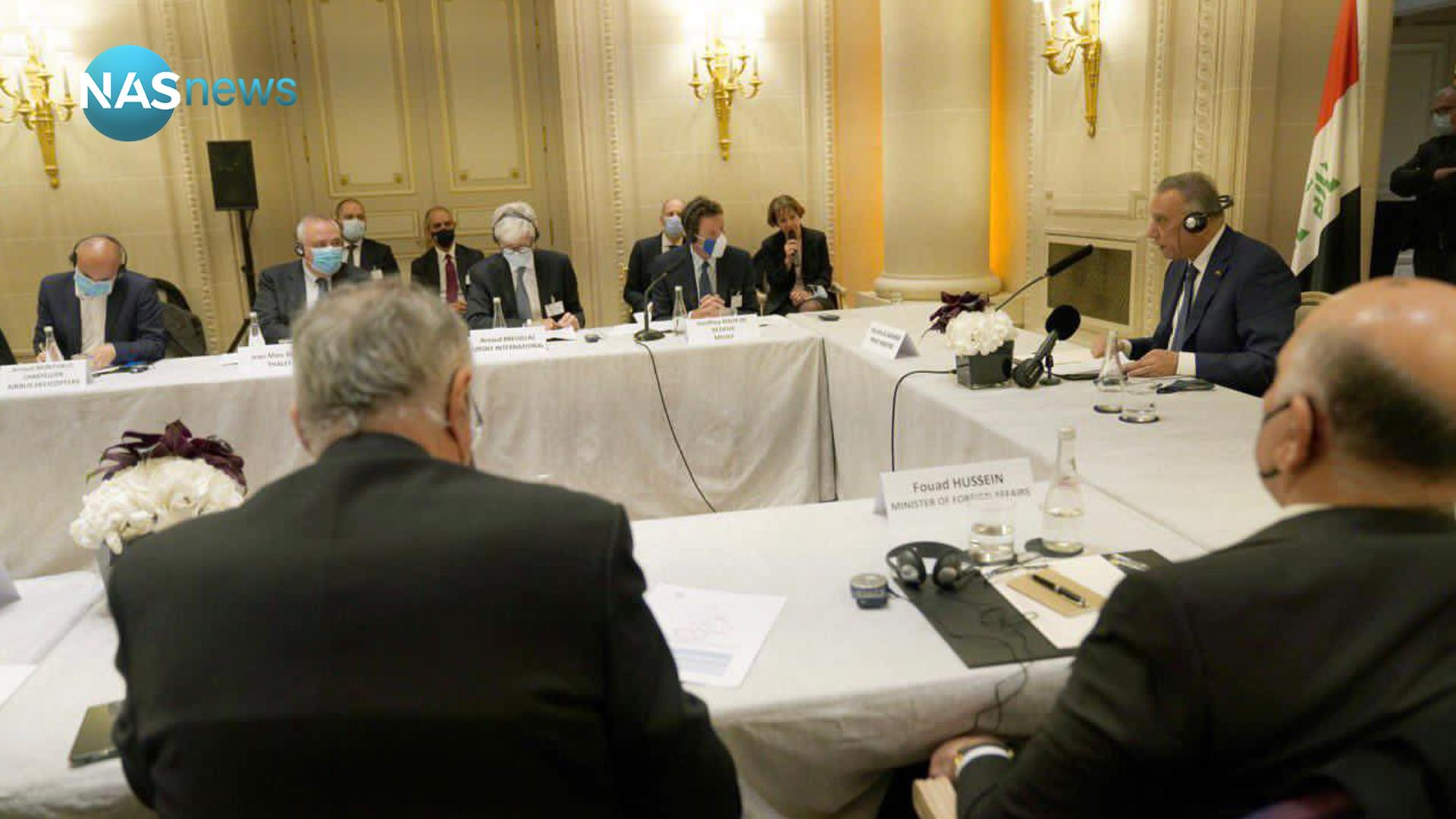 An extended meeting of Kazemi with the heads of French companies (photos)
