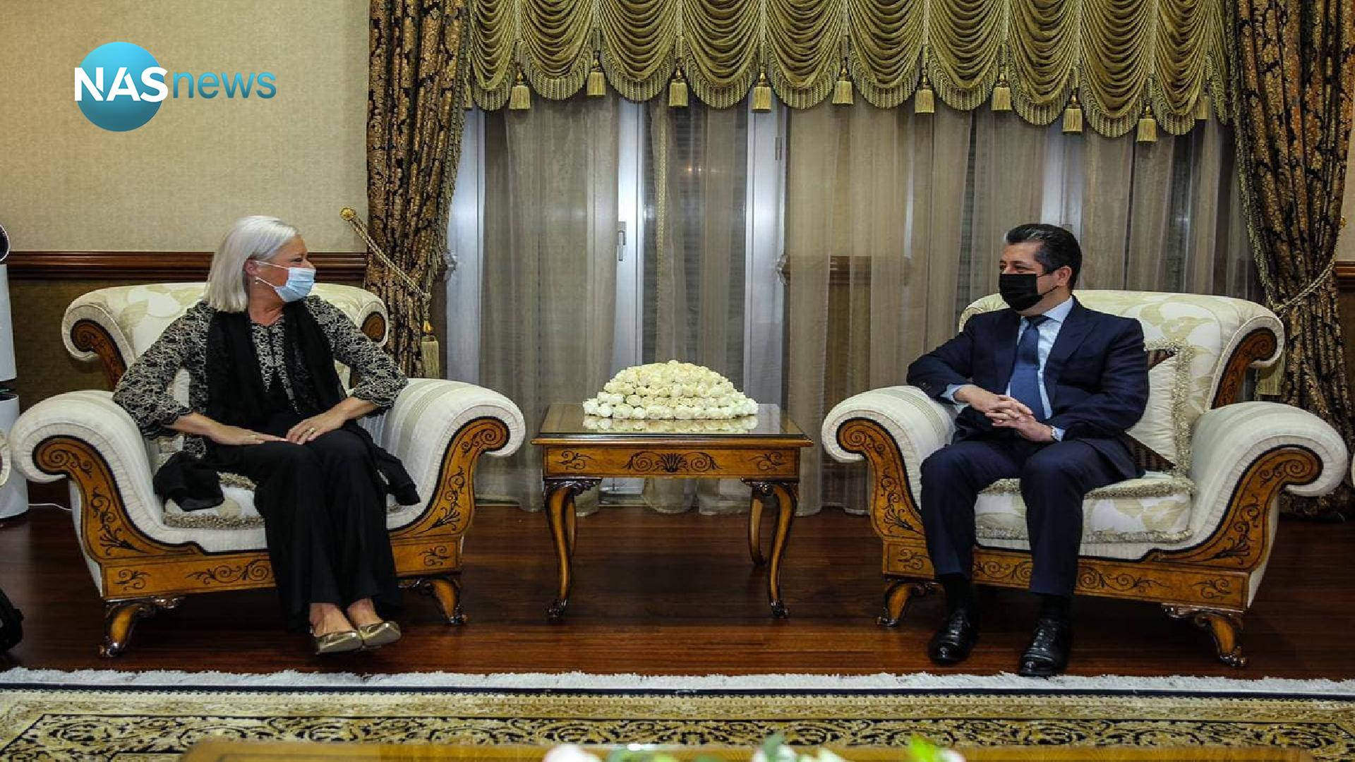 The outstanding issues between Erbil and Baghdad on the table for a meeting between Barzani and Blashardt