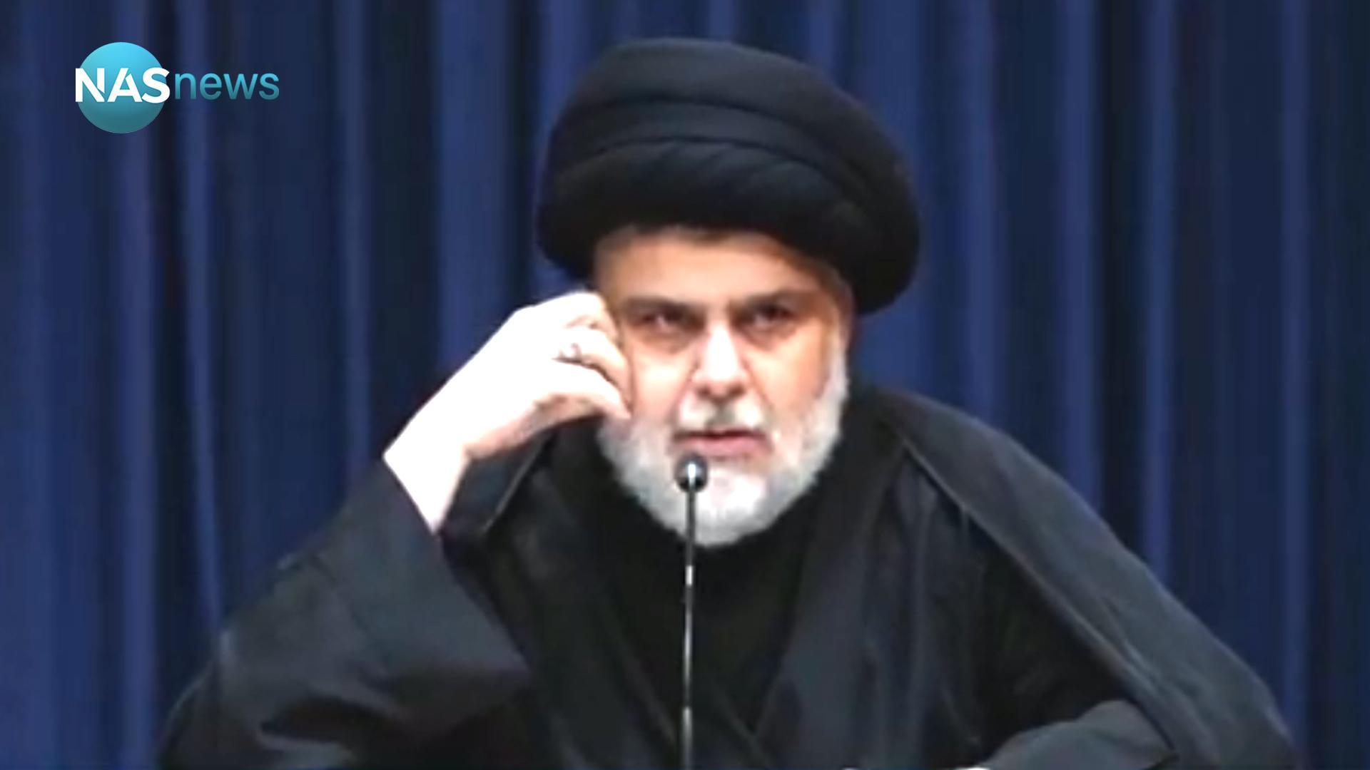 'وزير الصدر' يتطرق إلى 'الأعمال الوقحة' ويطلب من أنصار التيار الالتزام بأربع قضايا