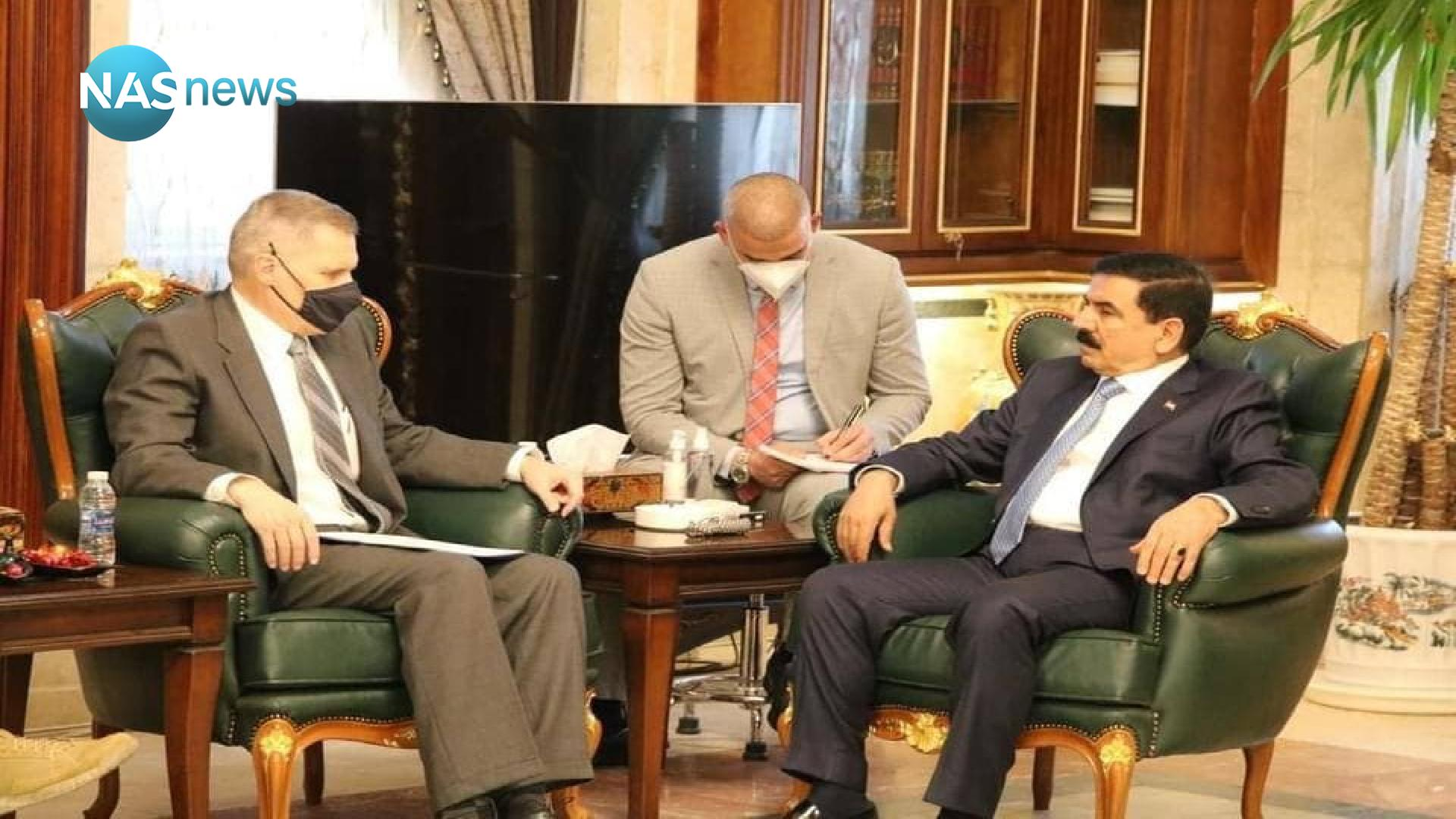 The US Embassy in Baghdad: A meeting between Tueller and the Iraqi Defense Minister