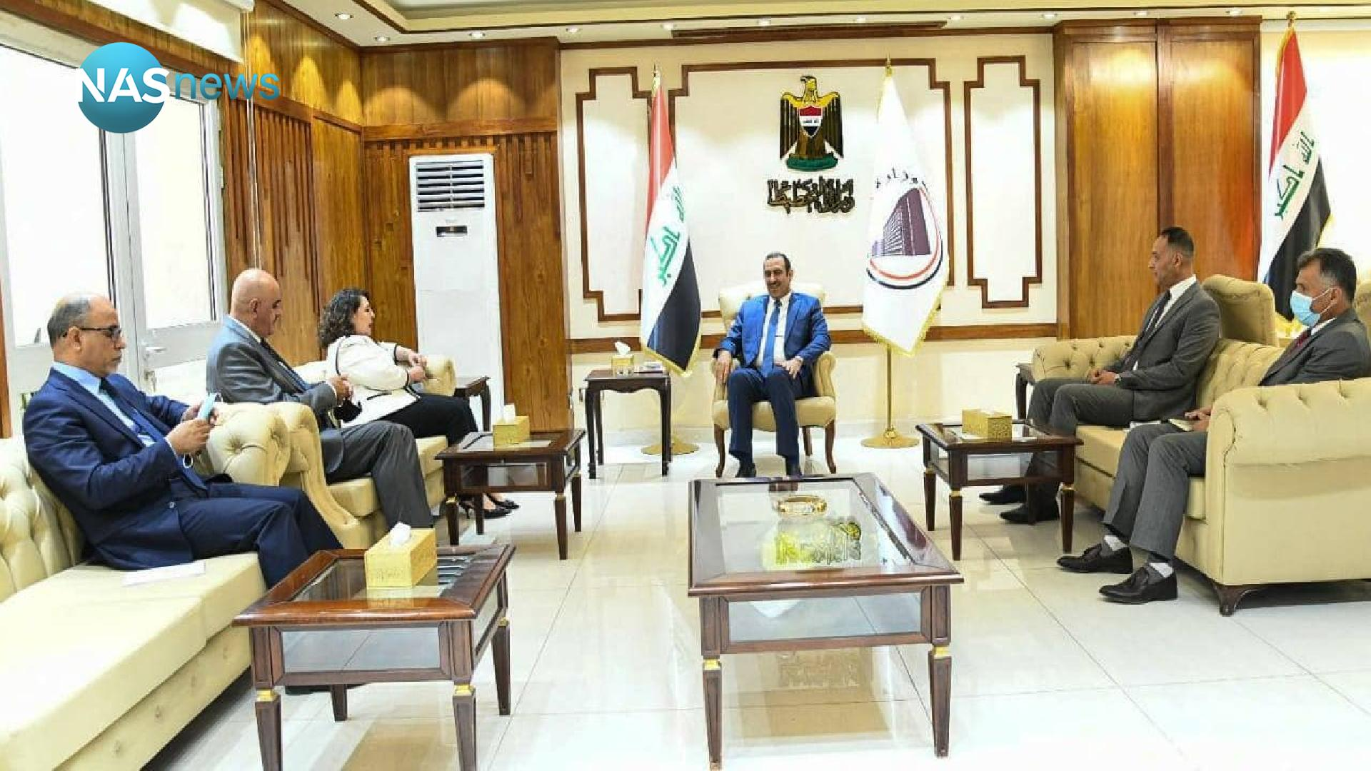 Planning calls on the United Nations Development Program to support the efforts of the Iraqi government in two files