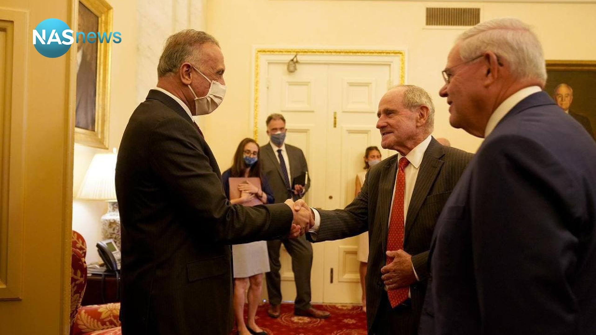 Photos: Al-Kazemi meets with the Chairman of the US Senate Foreign Relations Committee