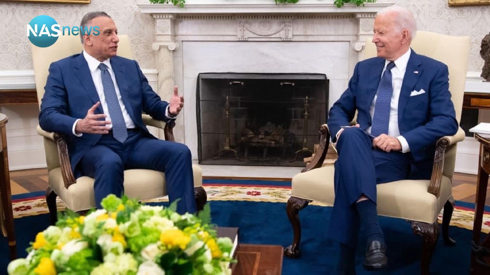 The full meeting between Joe Biden and Mustafa Al-Kazemi at the White House (video and photos)