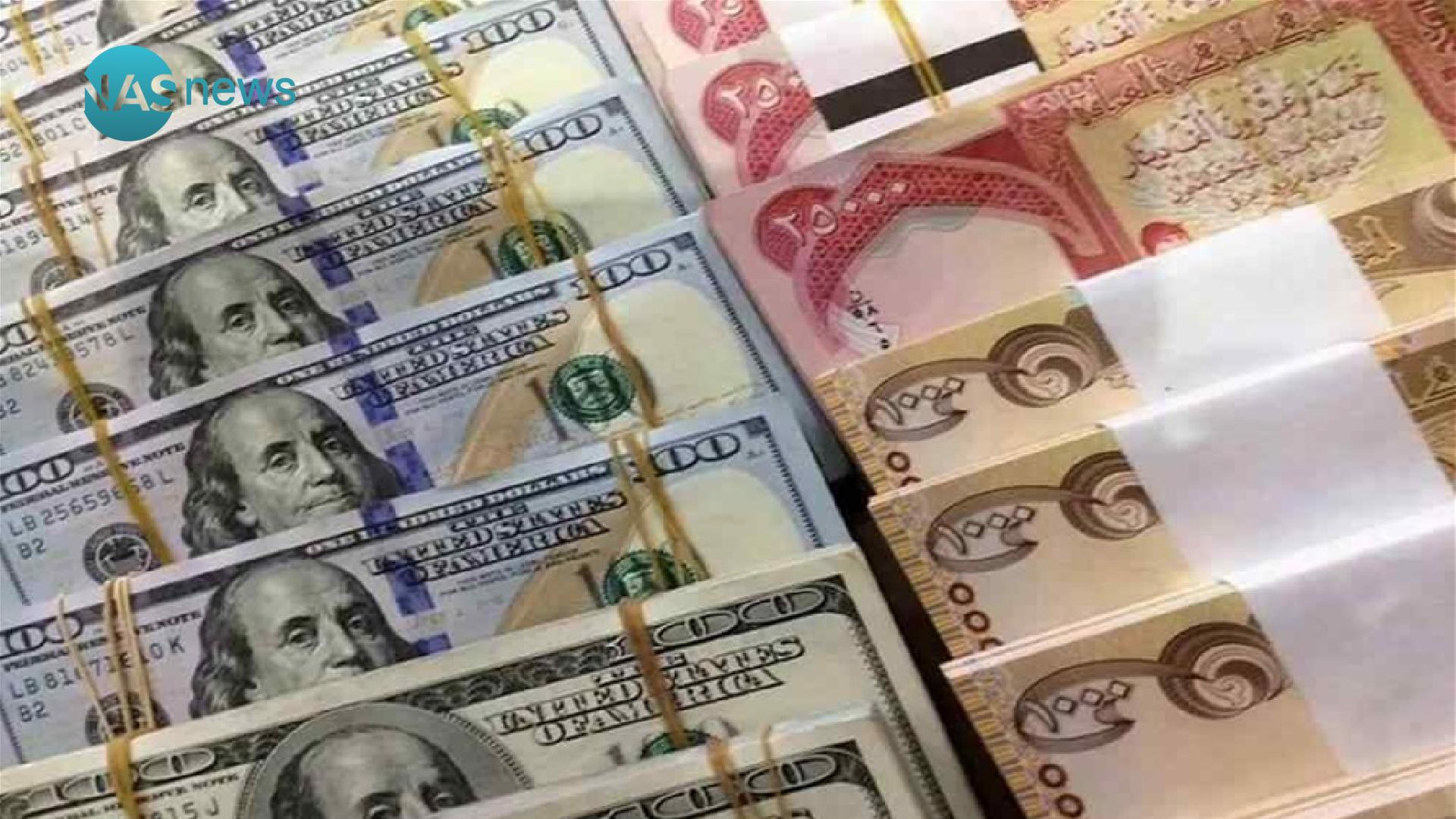 The exchange rate of the dollar in the Iraqi local markets