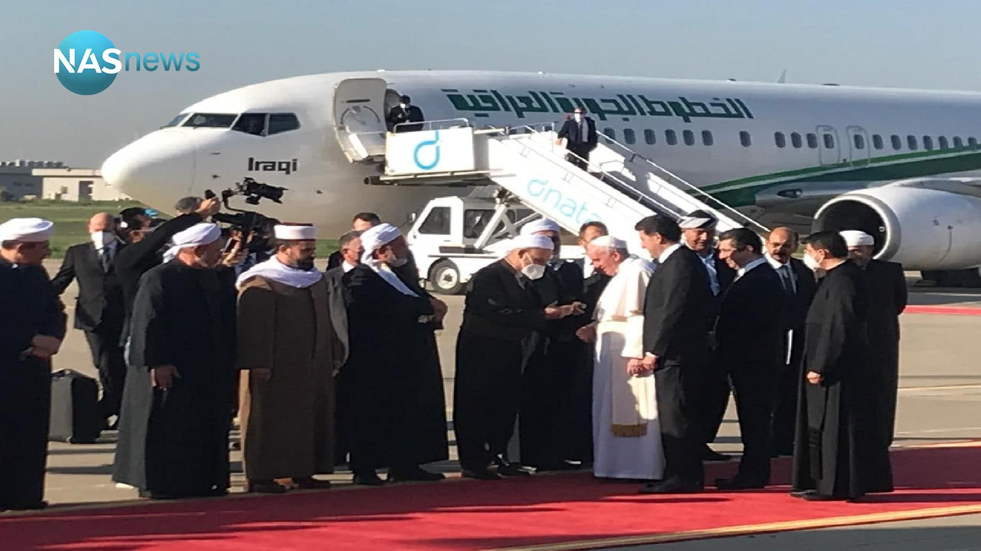 Official reception and meeting between the Pope and the President of the Kurdistan Region (photos)
