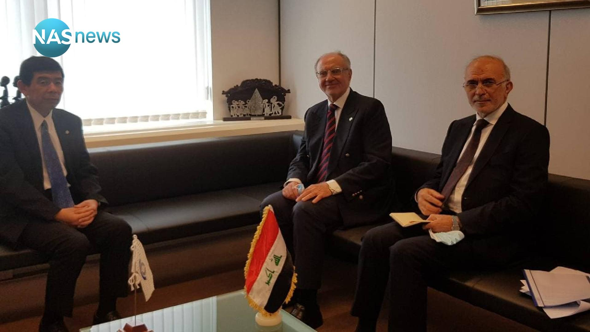 Discussions between the Iraqi Minister of Finance and the Secretary General of the International Customs Organization