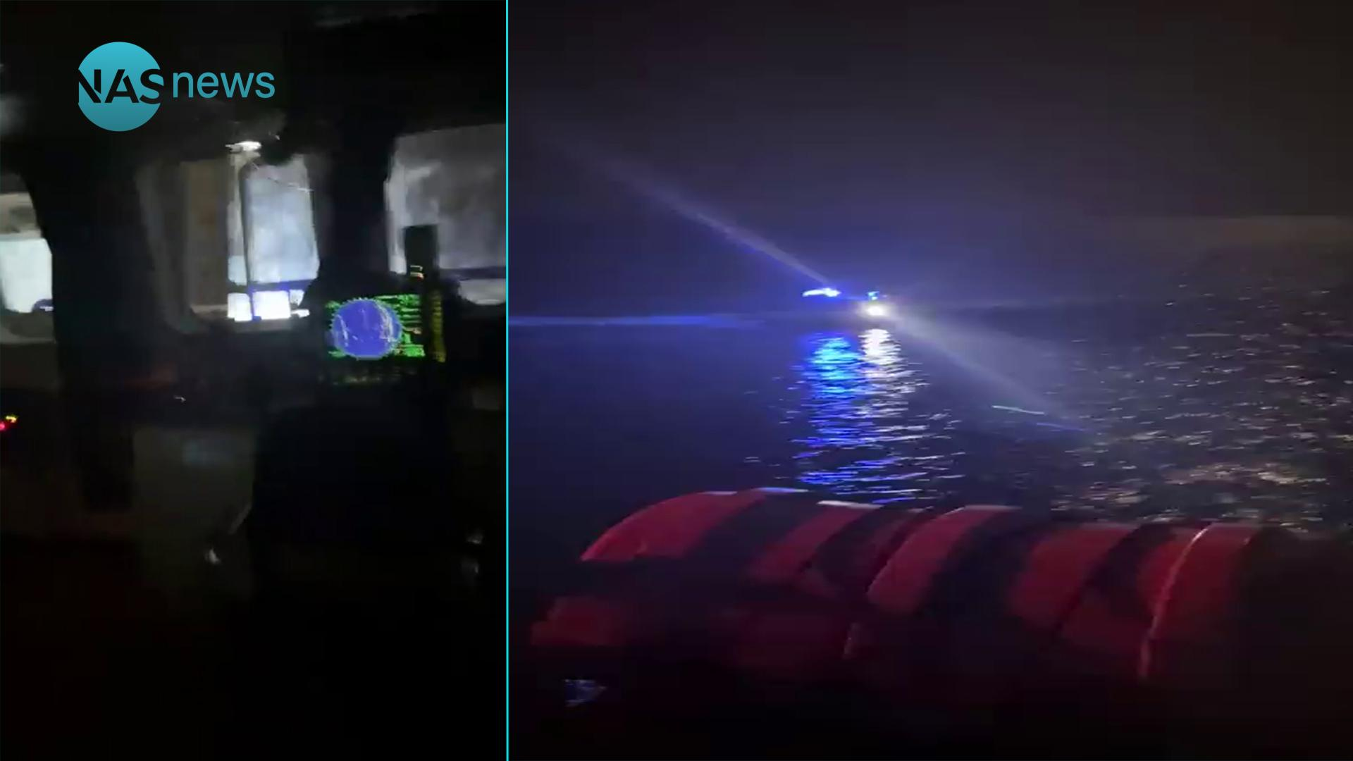فيديو من داخل الزورق العراقي: قوة كويتية تعترض البحرية العراقية