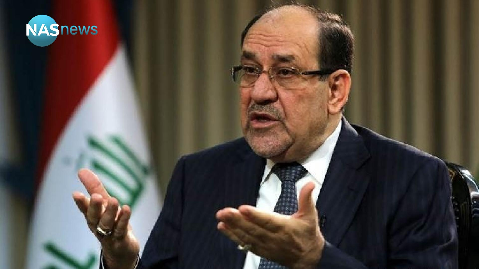 An 'angry' statement from Al-Maliki's bloc .. 'Whoever makes himself a reporter, get ready to face the judiciary' Dda12d2fe-56795-202104020250
